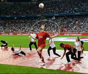 Fussball Halbzeit Show
