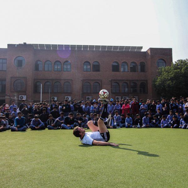 Football-Freestyle