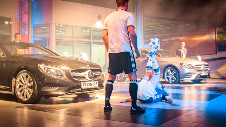 Fussball Show - Mercedes Benz
